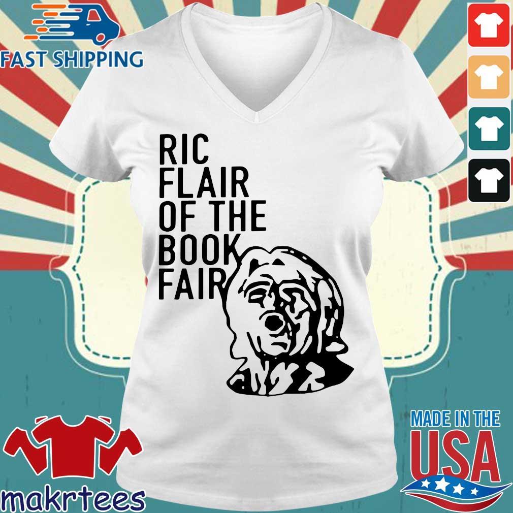 Ric Flair Of The Book Fair Shirtric Flair 2020 Shirt Ladies V-neck trang