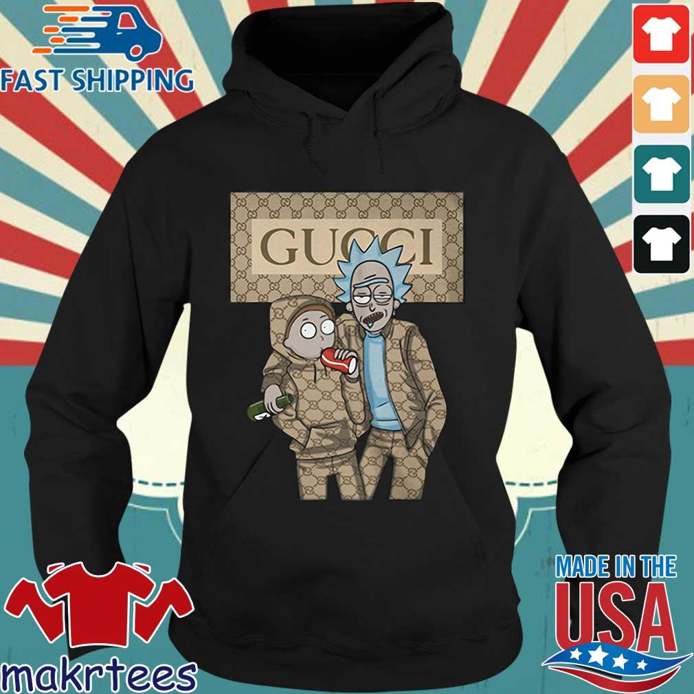 Rick And Morty Gucci Shirt Hoodie den