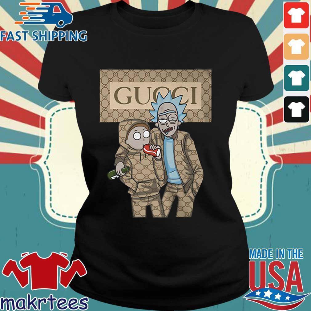 Rick And Morty Gucci Shirt Ladies den