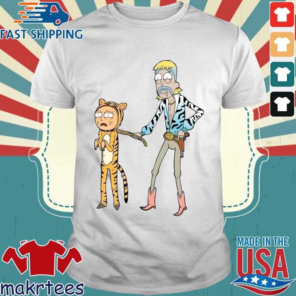 Rick And Morty Joe Exotic Tiger T-Shirt