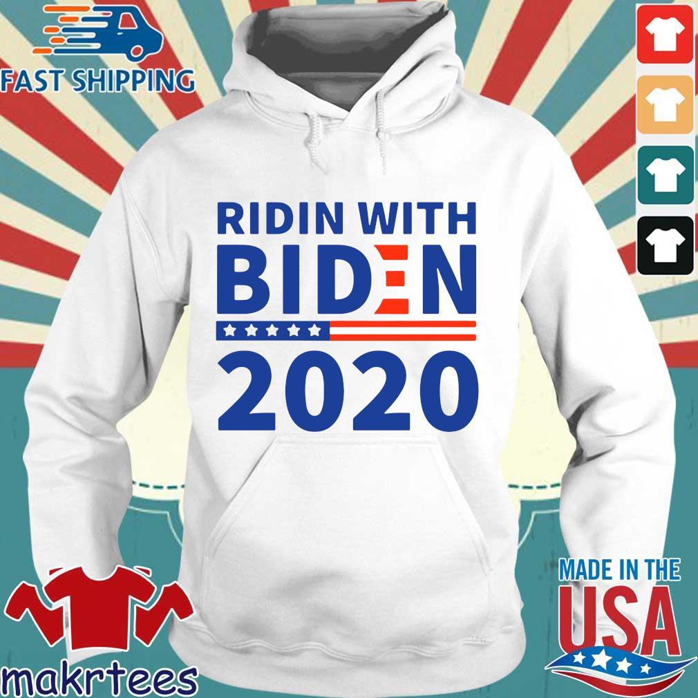 Ridin With Biden 2020 Shirt Hoodie trang