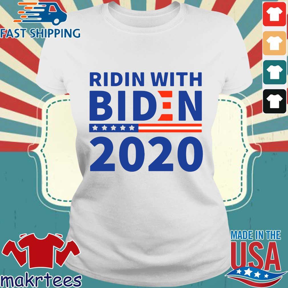 Ridin With Biden 2020 Shirt Ladies trang