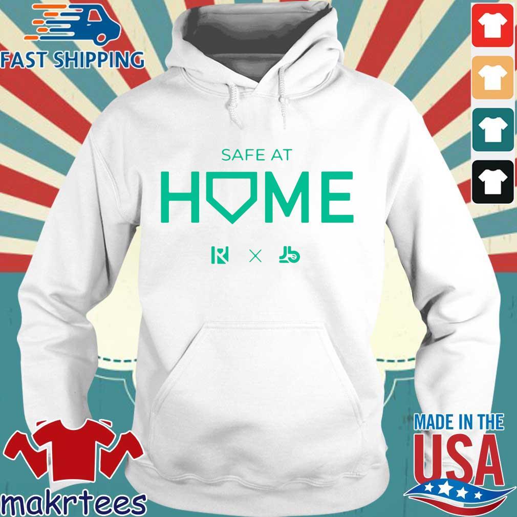 Routine X Justbats Safe At Home Shirt Hoodie trang