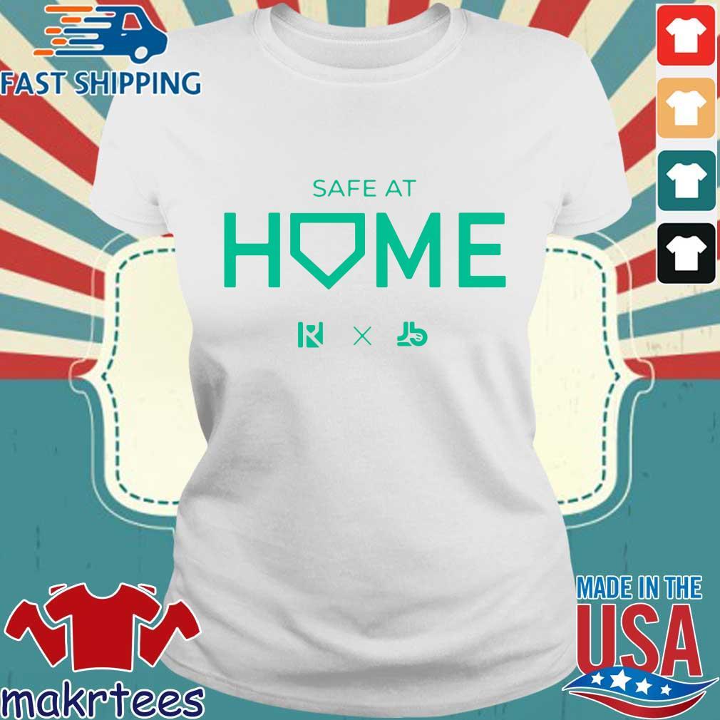 Routine X Justbats Safe At Home Shirt Ladies trang