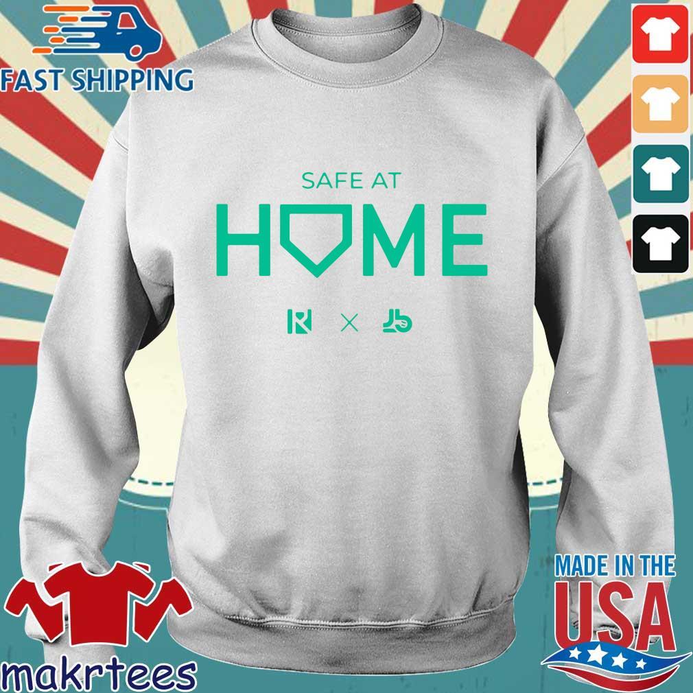 Routine X Justbats Safe At Home Shirt Sweater trang