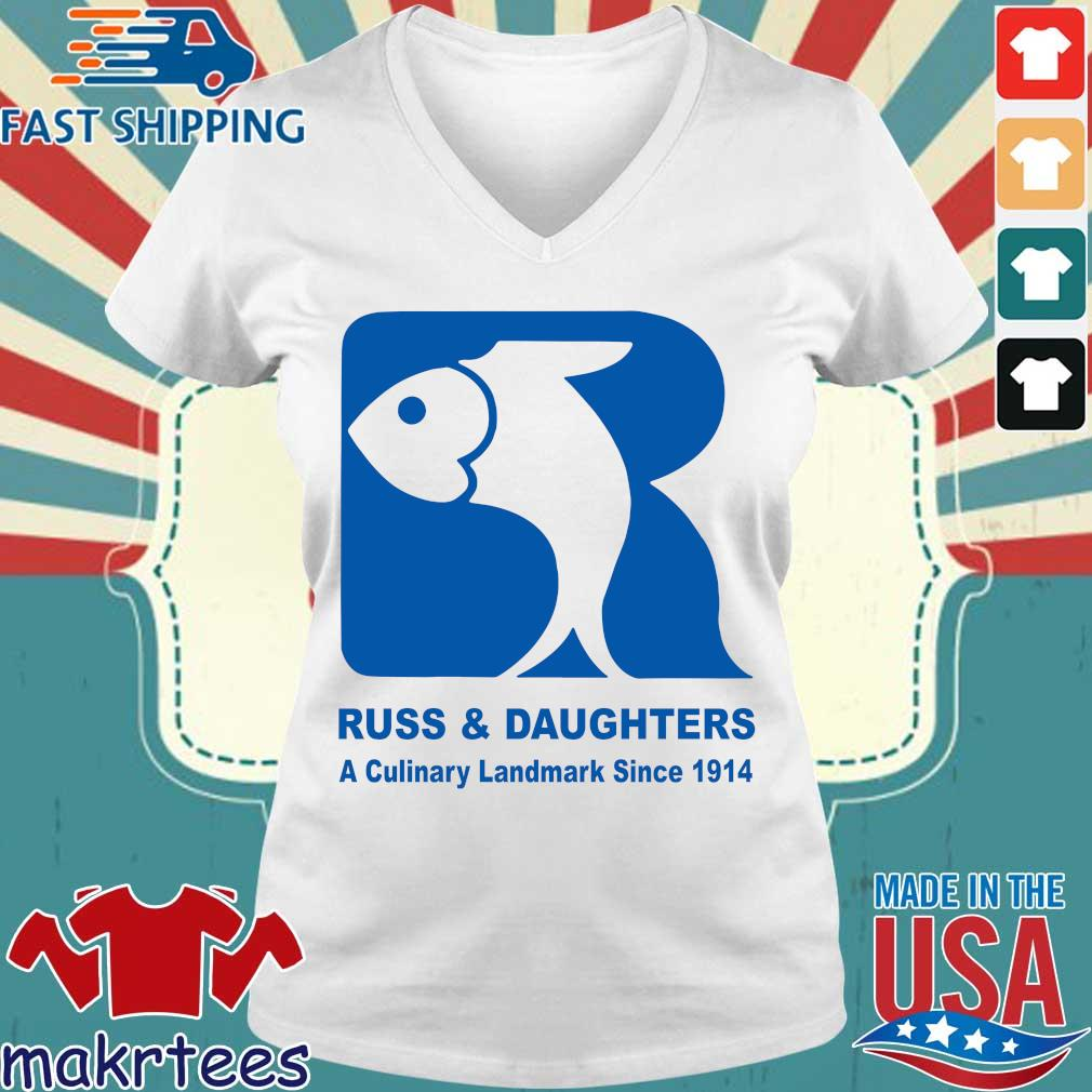 Russ And Daughters A Culinary Landmark Since 1914 Shirt Ladies V-neck trang