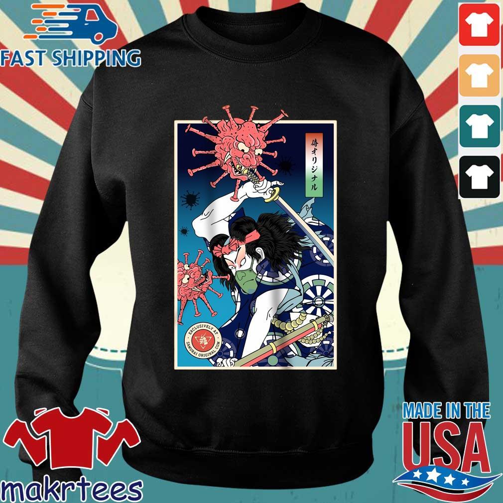 Samurai Corona Virus Shirt Sweater den