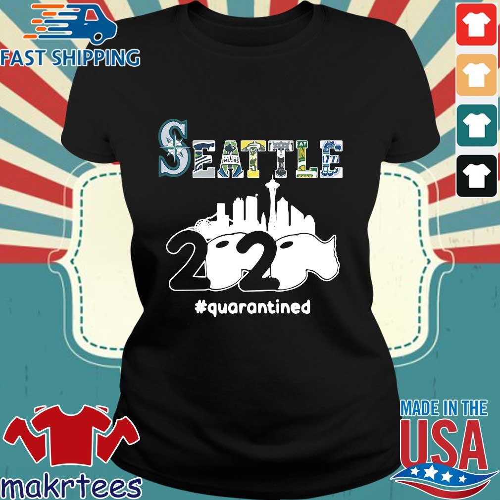 Seattle 2020 Quarantined Shirt Ladies den