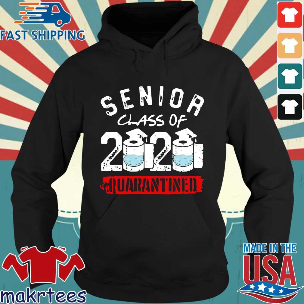 Senior Class of 2020 Quarantine Graduation Toilet Paper Shirt Hoodie den