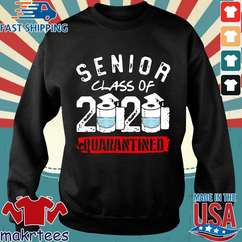 Senior Class of 2020 Quarantine Graduation Toilet Paper Shirt Sweater den