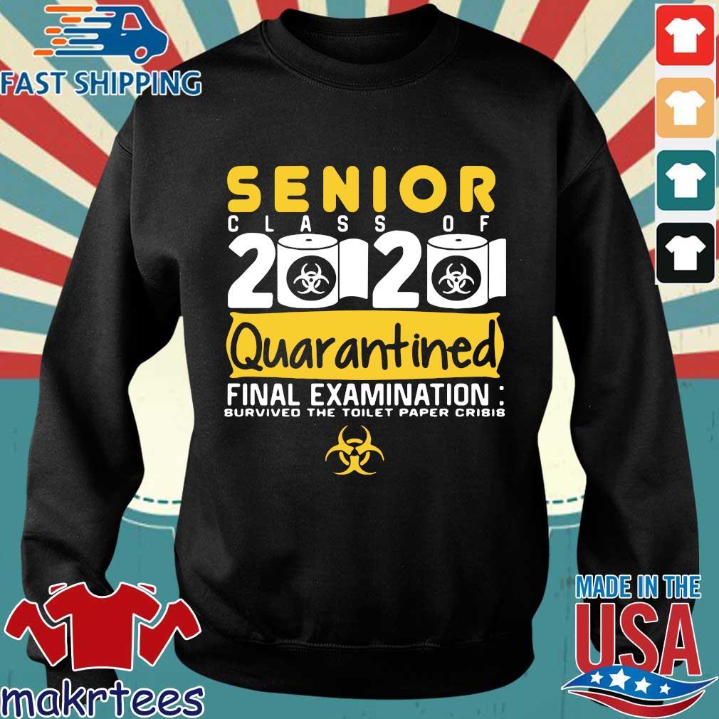 Senior Class Of 2020 Quarantined Final Examination Toilet Paper Shirt Sweater den
