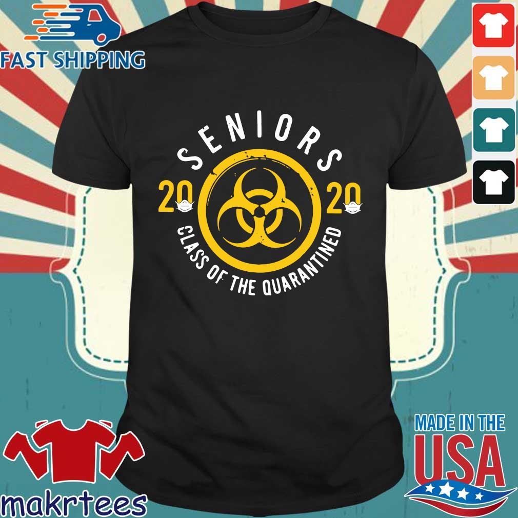 Seniors 2020 Class Of The Quarantined Tee Shirts