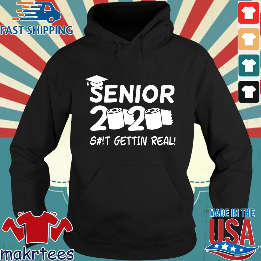 Seniors 2020 Getting Real Funny Toilet Paper Graduation Day Class Of 2020 Shirt Hoodie den
