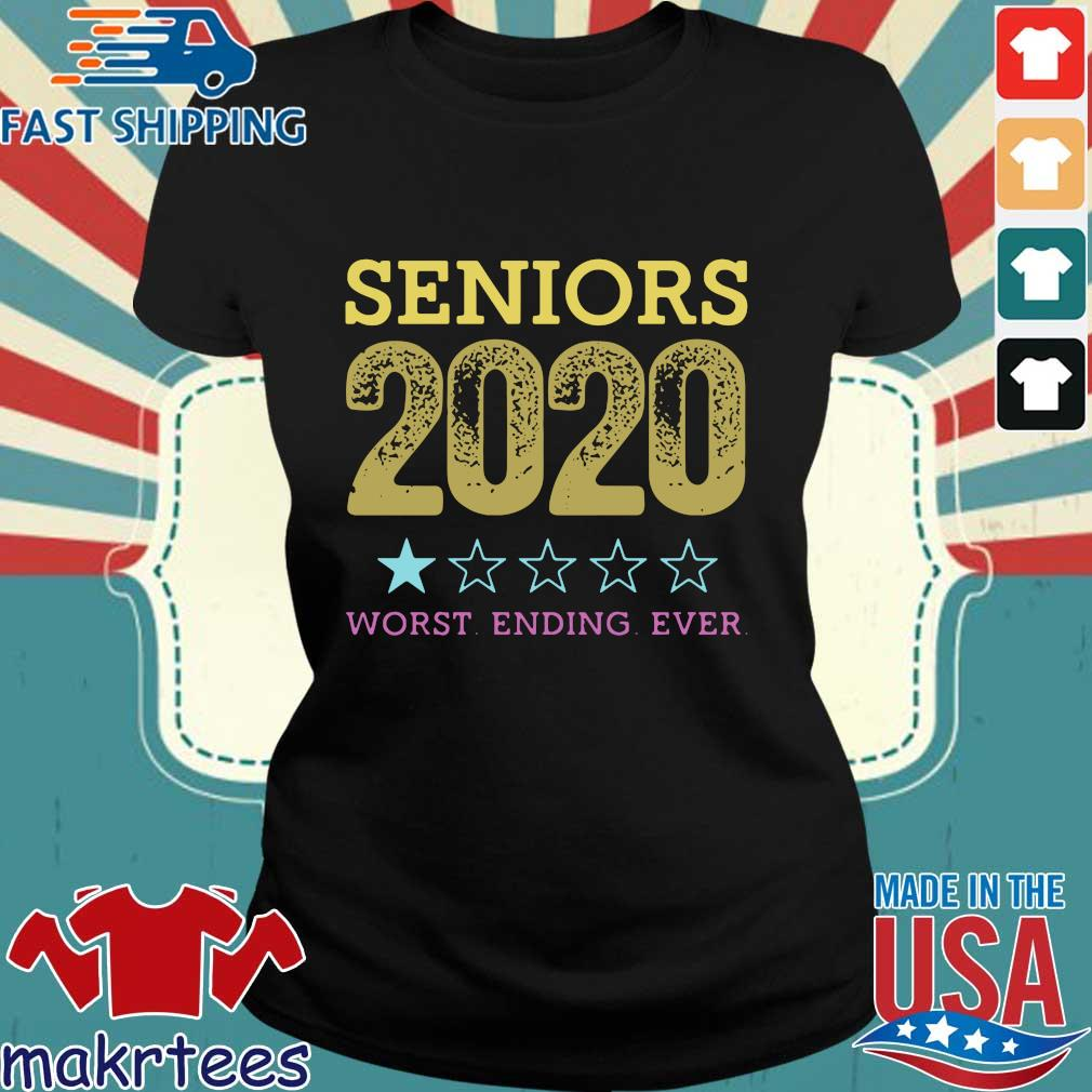 Seniors 2020 Worst Ending Ever Shirt Ladies den