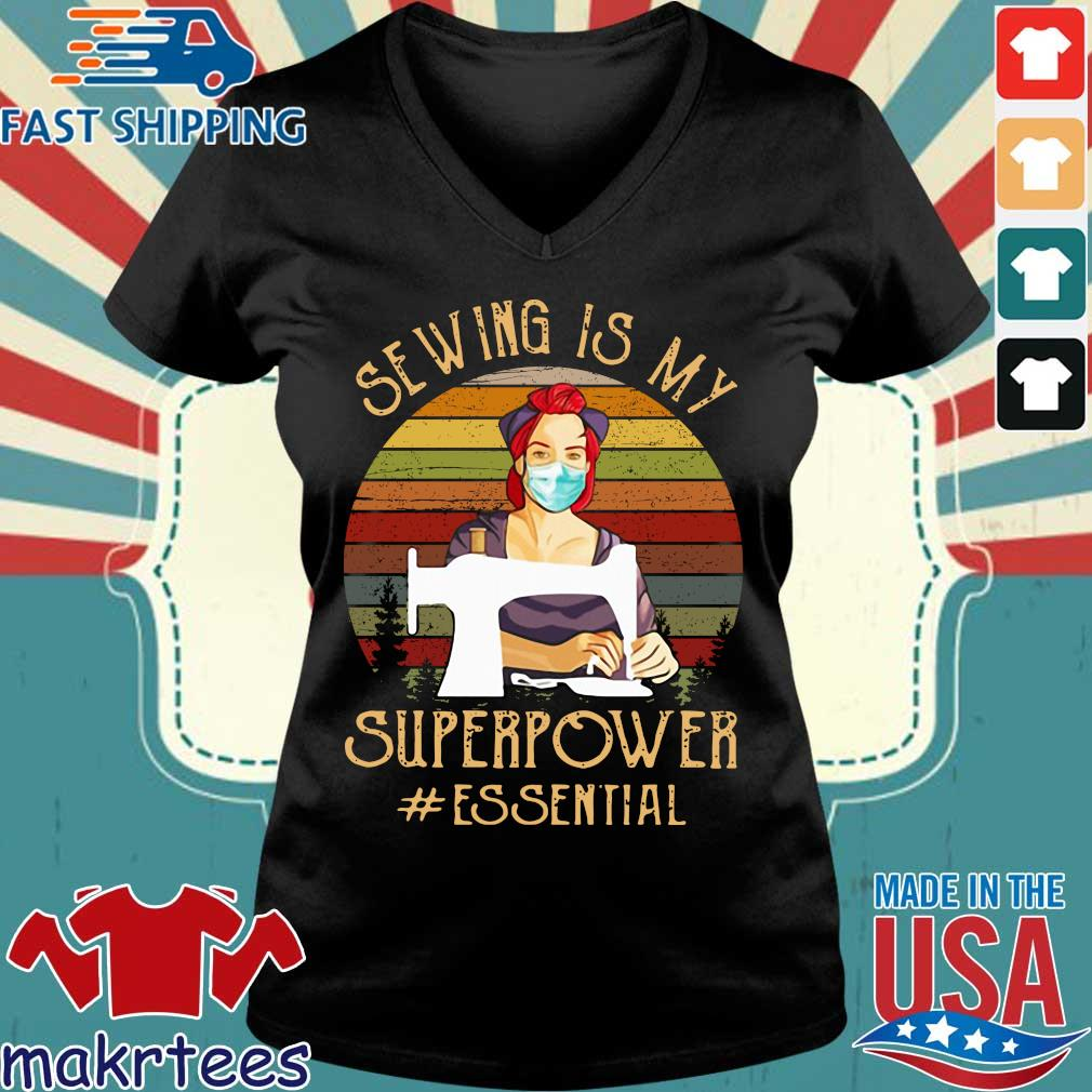 Sewing Superpower Essential 2020 T-s Ladies V-neck den