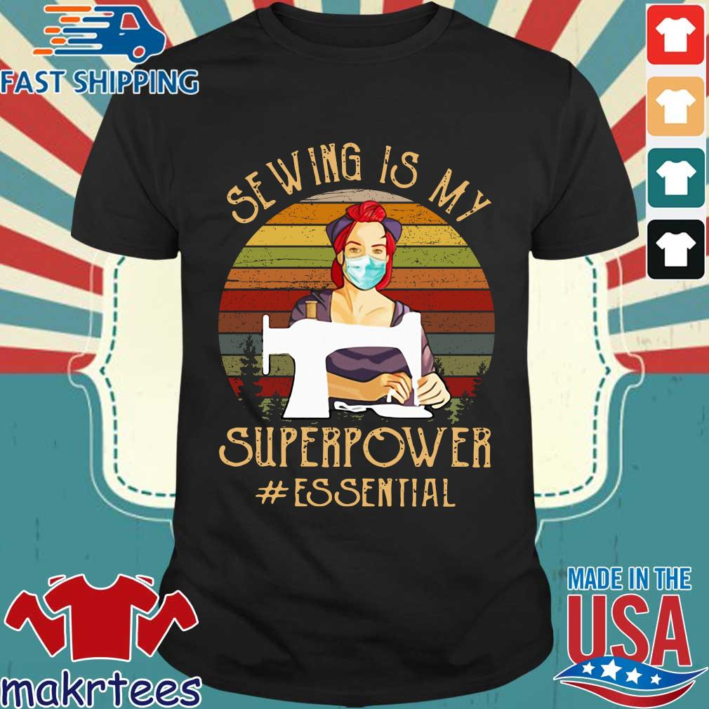 Sewing Superpower Essential 2020 T-shirt