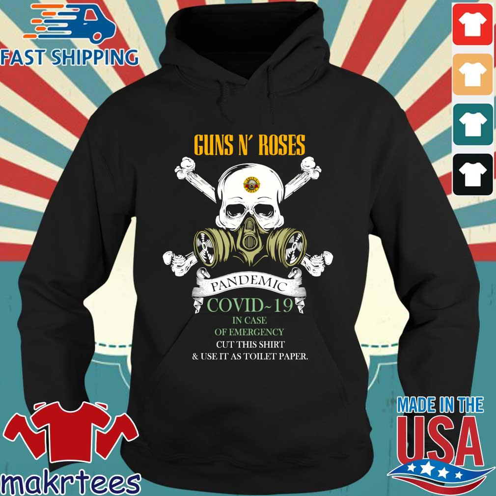 Skull Guns N' Roses 2020 Pandemic Covid-19 In Case Of Emergency Shirt Hoodie den