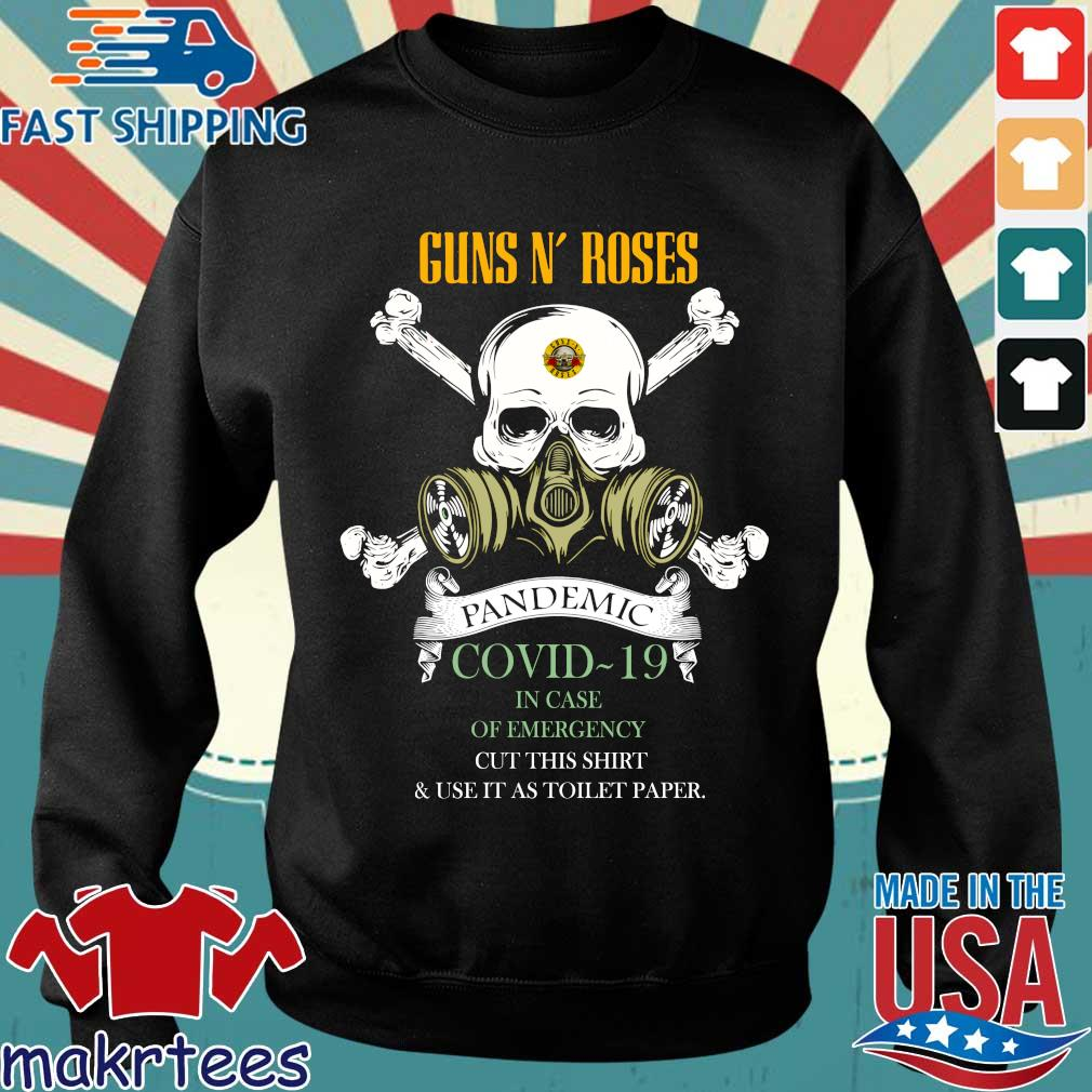 Skull Guns N' Roses 2020 Pandemic Covid-19 In Case Of Emergency Shirt Sweater den