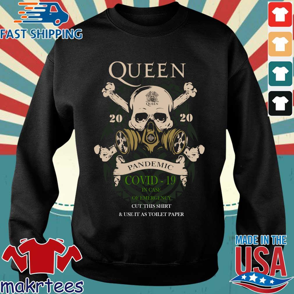 Skull Queen 2020 Pandemic Covid-19 In Case Of Emergency Shirt Sweater den