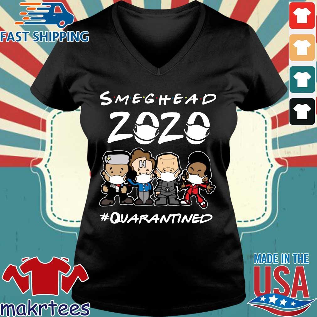 Smeghead 2020 Quarantined Shirt Ladies V-neck den