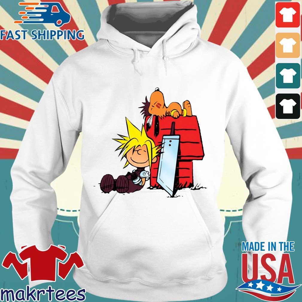 Snoopy And Charlie Brown Final Fantasy Shirt Hoodie trang
