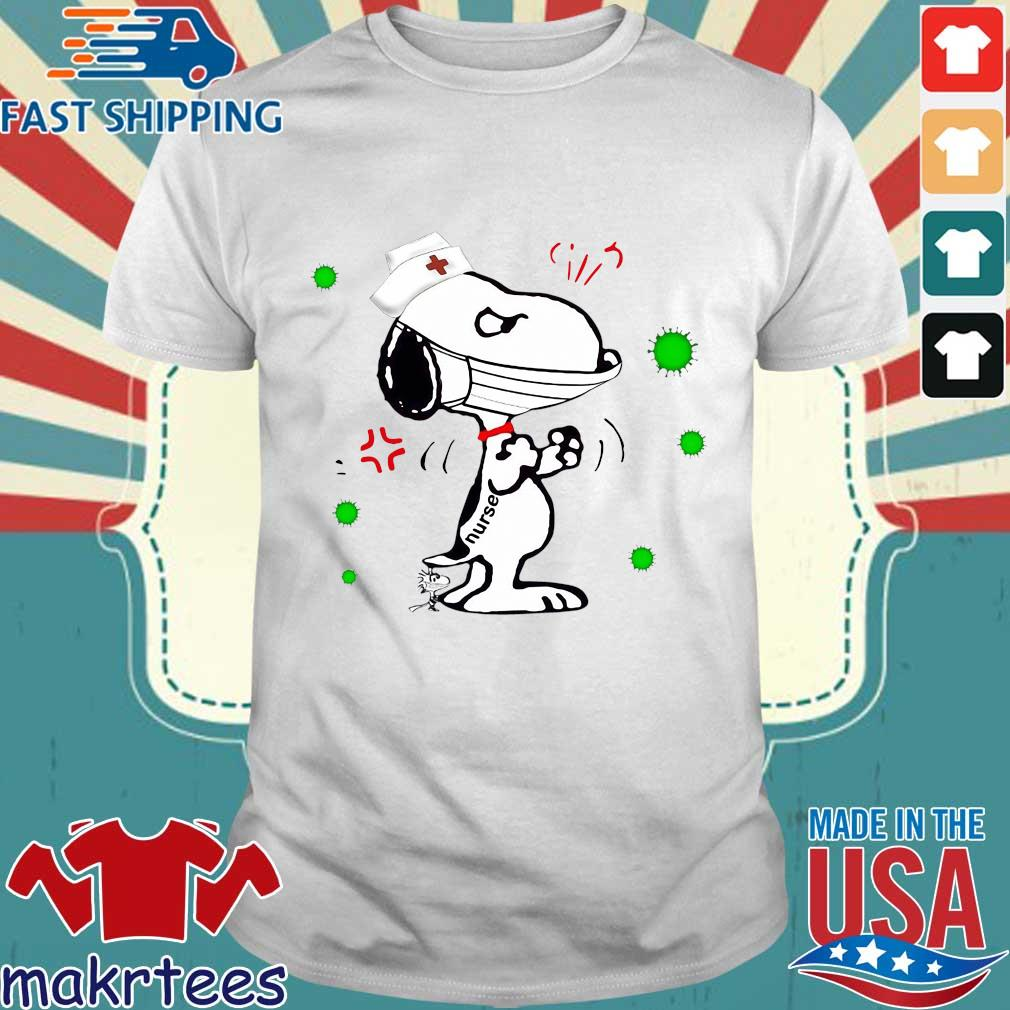 Snoopy And Woodstock Nurse Corona Virus 2020 Shirt