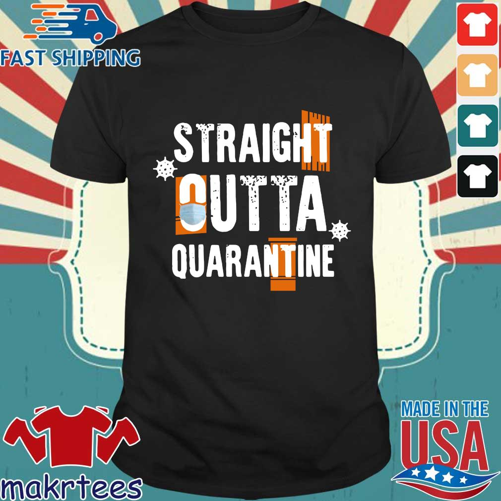 Socialdistancing – Straight Outta Quarantine 2020 T-shirt