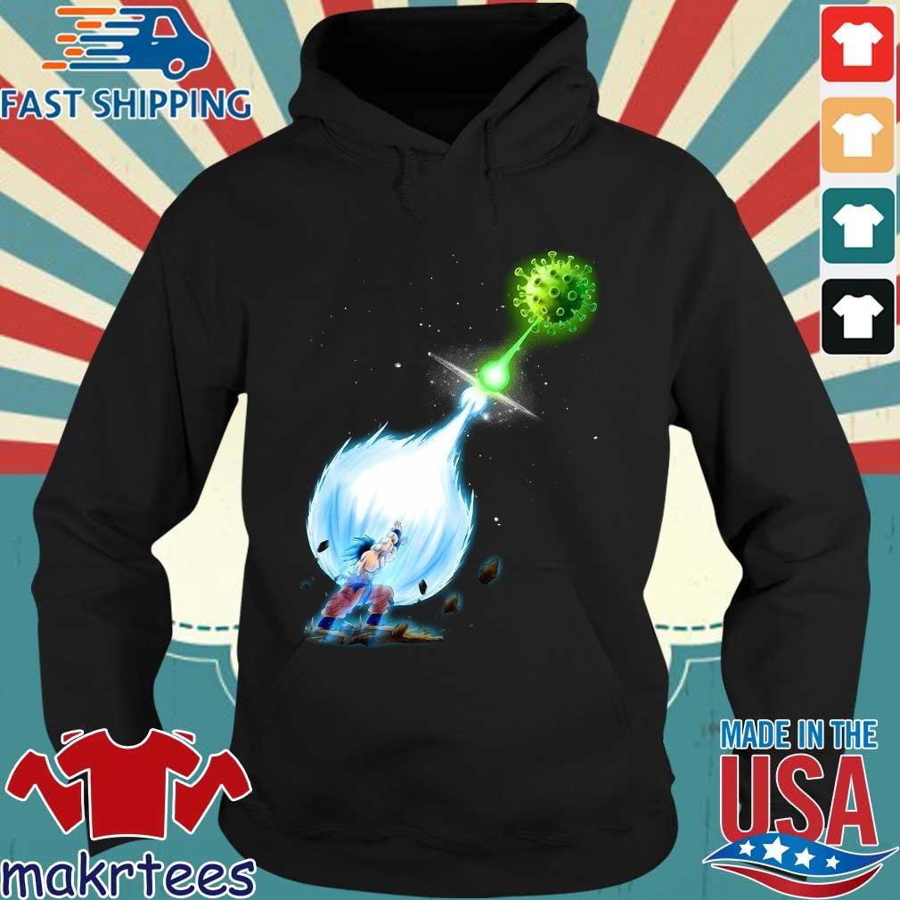 Son Goku Kamehameha Coronavirus Shirt Hoodie den