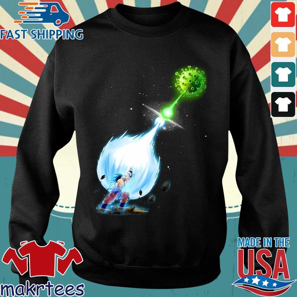 Son Goku Kamehameha Coronavirus Shirt Sweater den