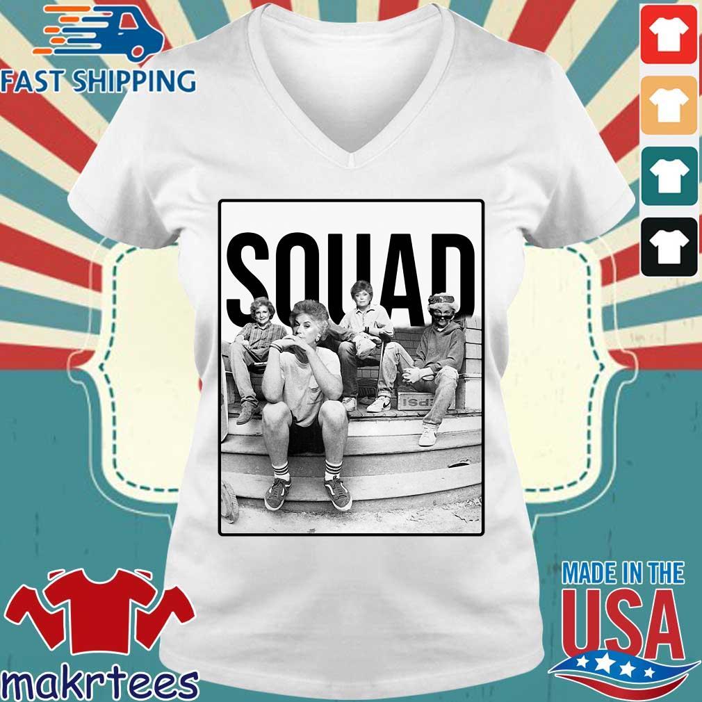 Squad The Golden Girls Shirt Ladies V-neck trang