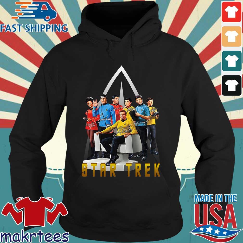Star Trek Characters Signatures Shirt Hoodie den