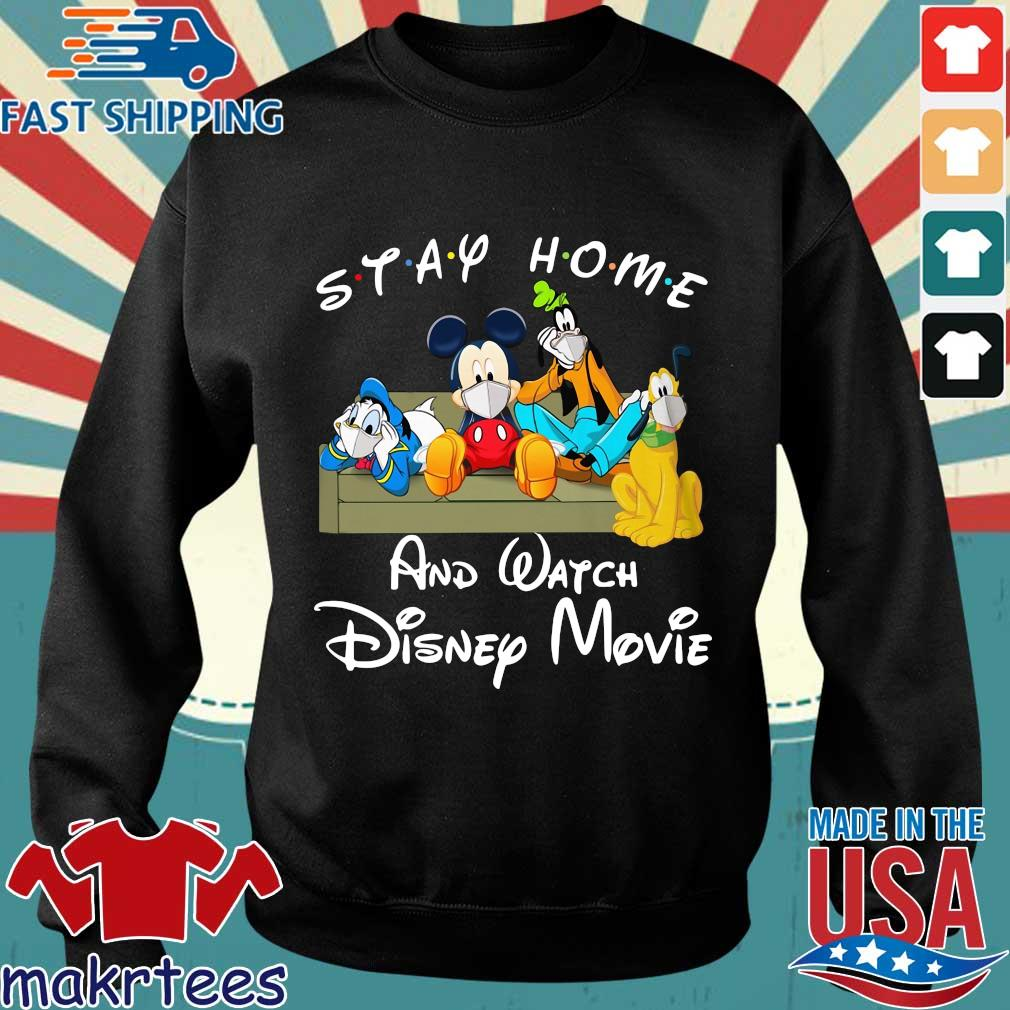 Stay Home And Watch Disney Movie Shirt Sweater den