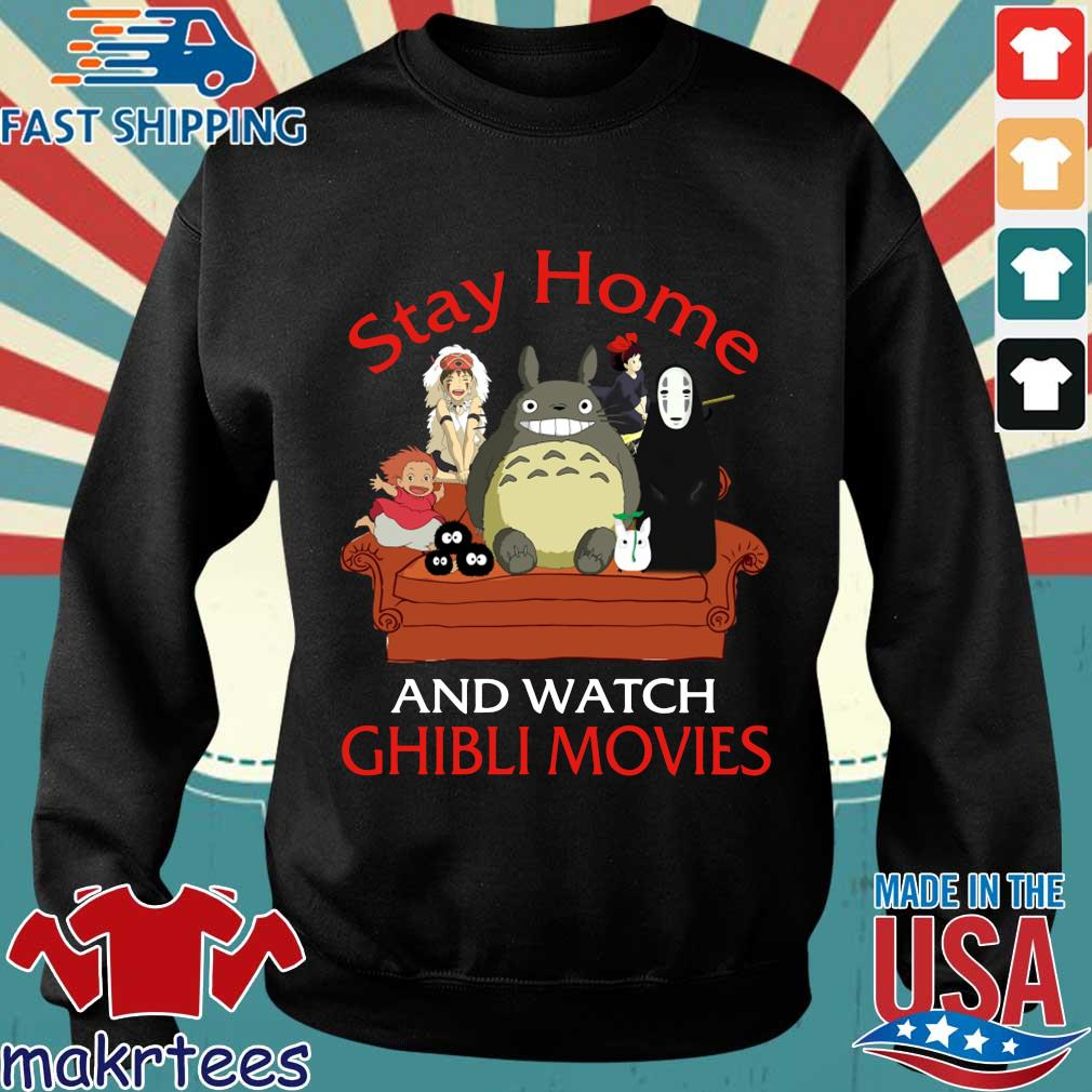 Stay Home And Watch Ghibli Movies Shirt Sweater den