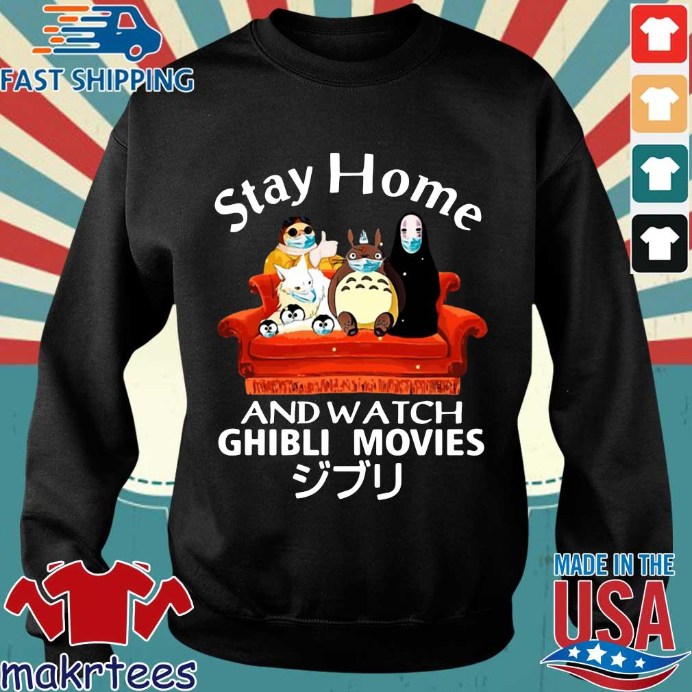 Stay Home And Watch Ghibli Movies T-s Sweater den