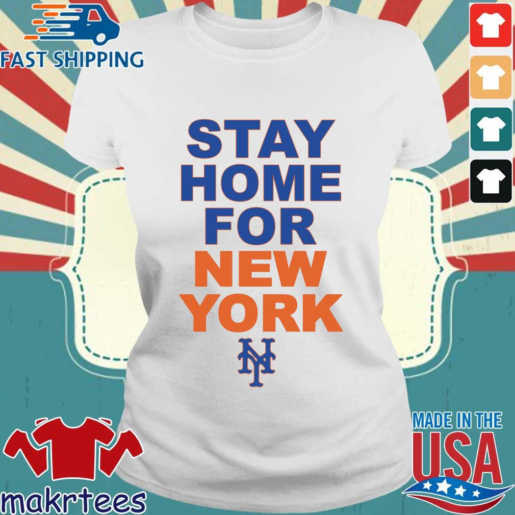 Stay Home For New York New York 2020 Shirt Ladies trang