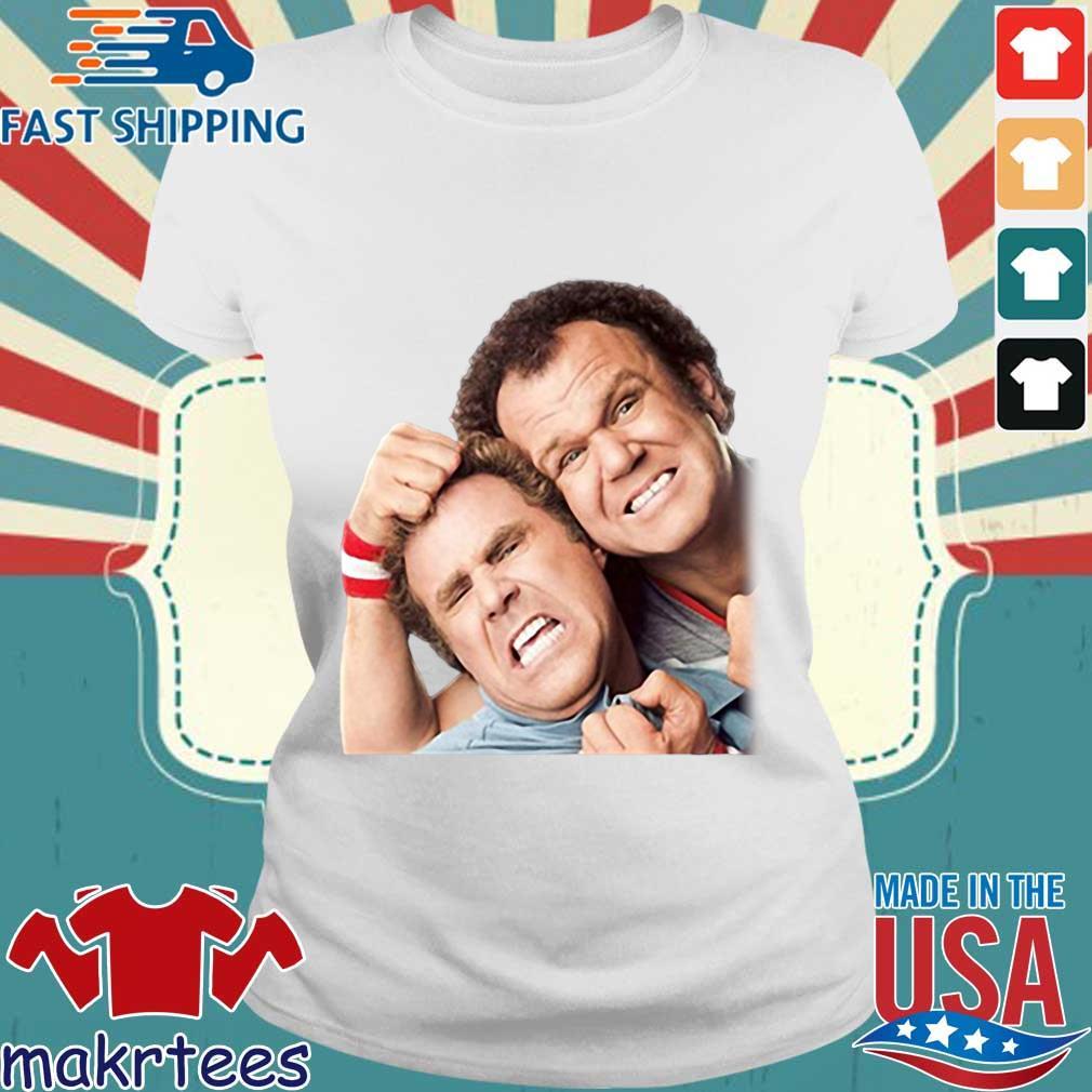 Step Brothers Poster Graphic Shirt Ladies trang