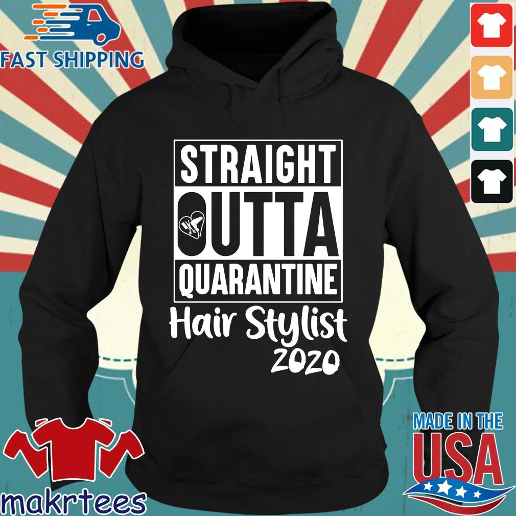 Straight Outta Hair Stylist Classic T-s Hoodie den