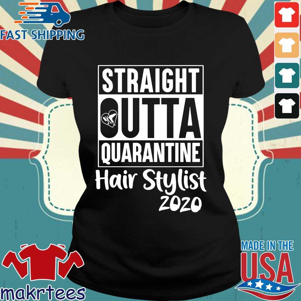 Straight Outta Hair Stylist Classic T-s Ladies den