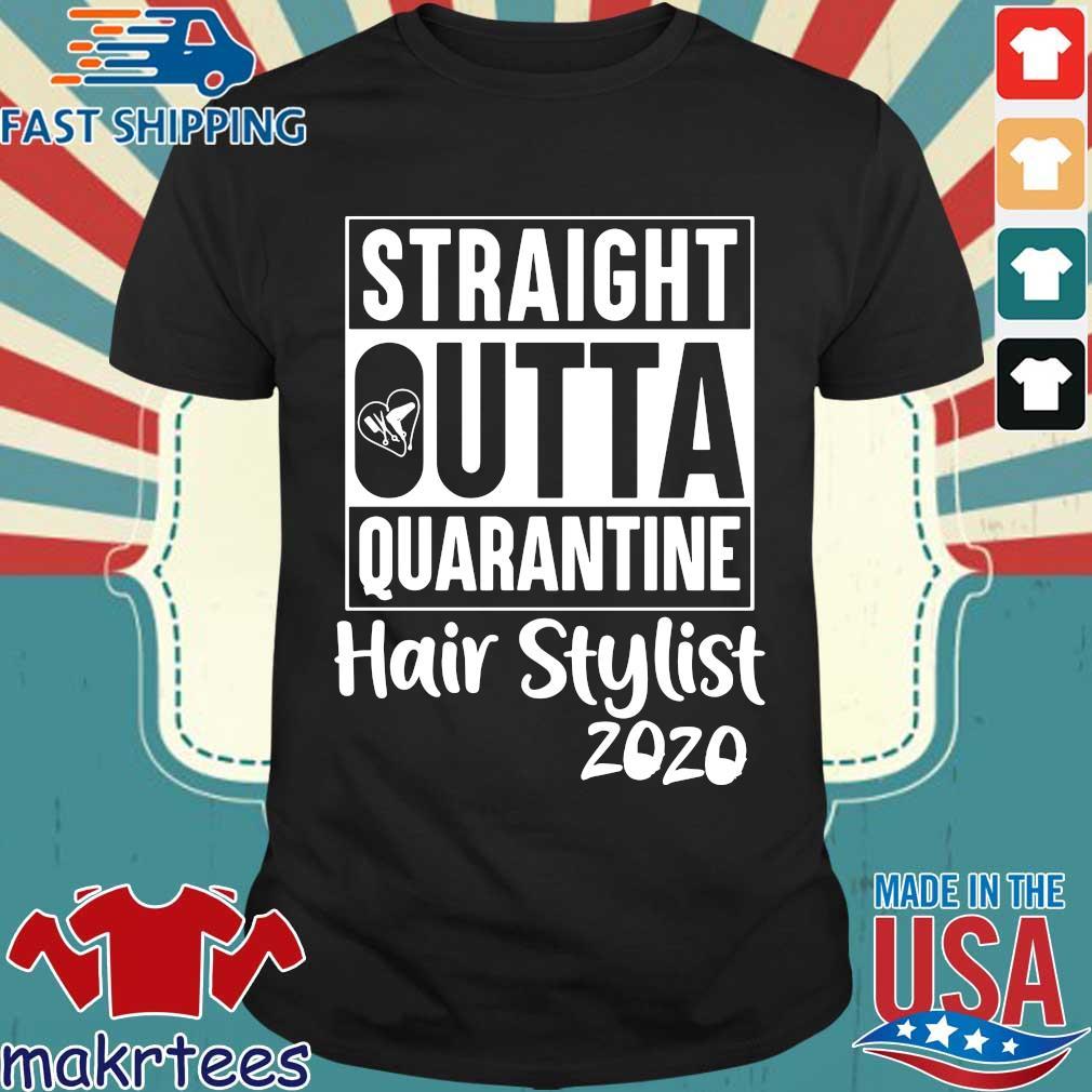 Straight Outta Hair Stylist Classic T-shirt