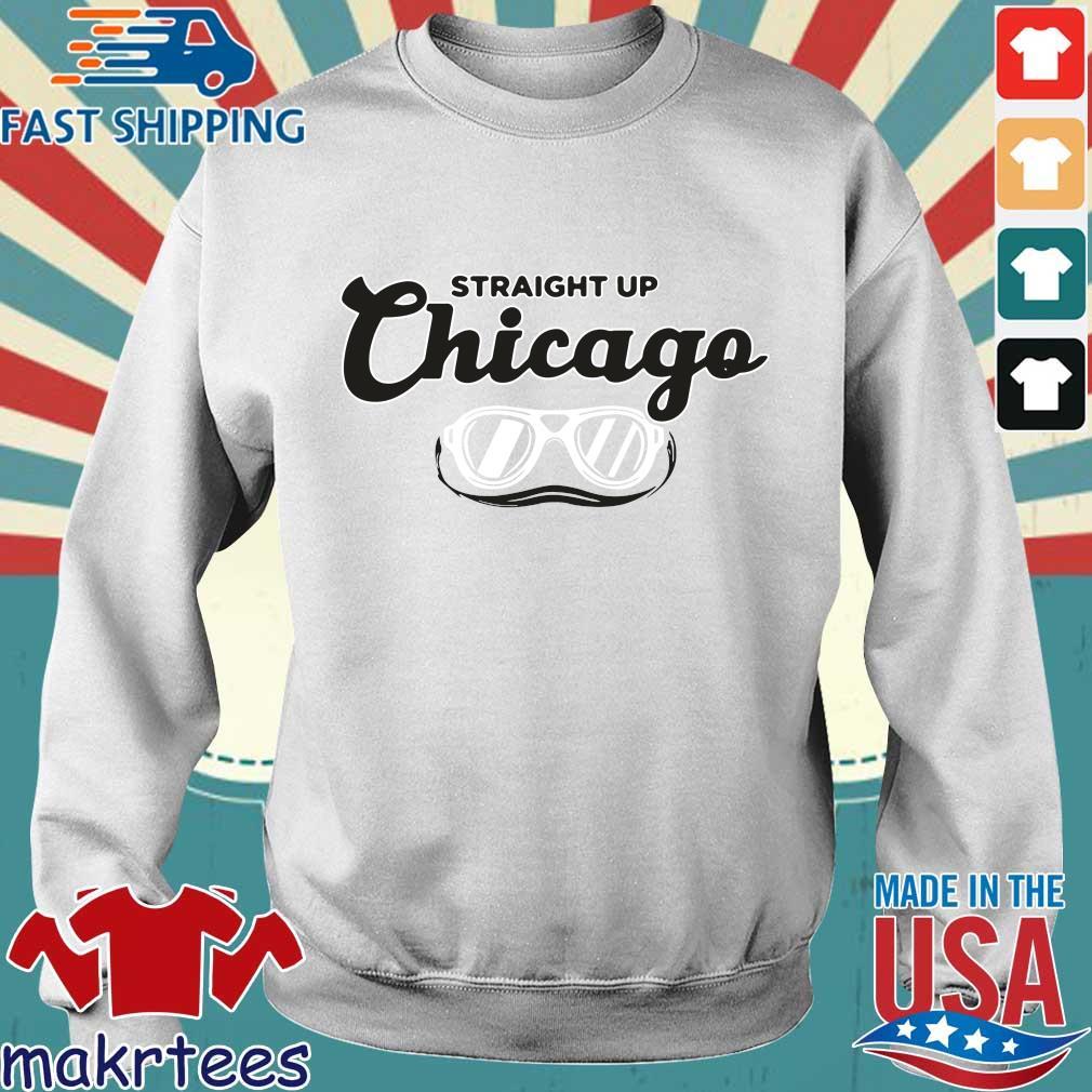 Straight Up Chicago Breakingt Shirt Sweater trang