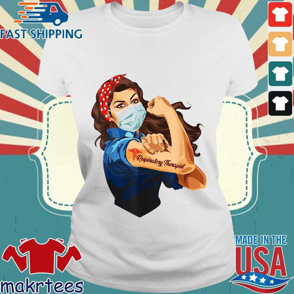 Strong Nurse Respiratory Therapist Shirt Ladies trang