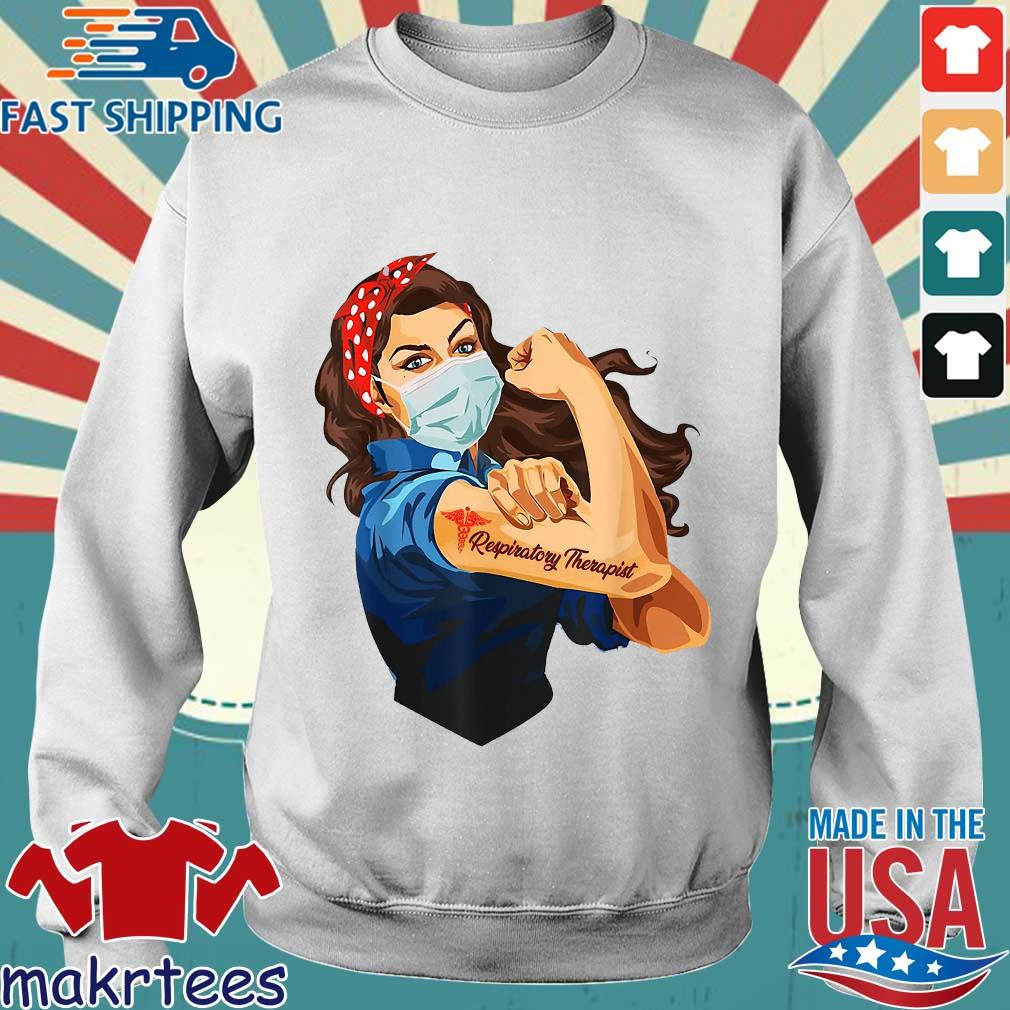 Strong Nurse Respiratory Therapist Shirt Sweater trang