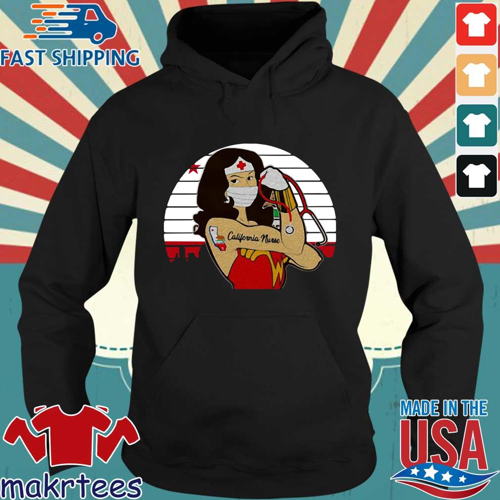 Strong Wonder Woman Tattoo Nurse Vintage Shirt Hoodie den