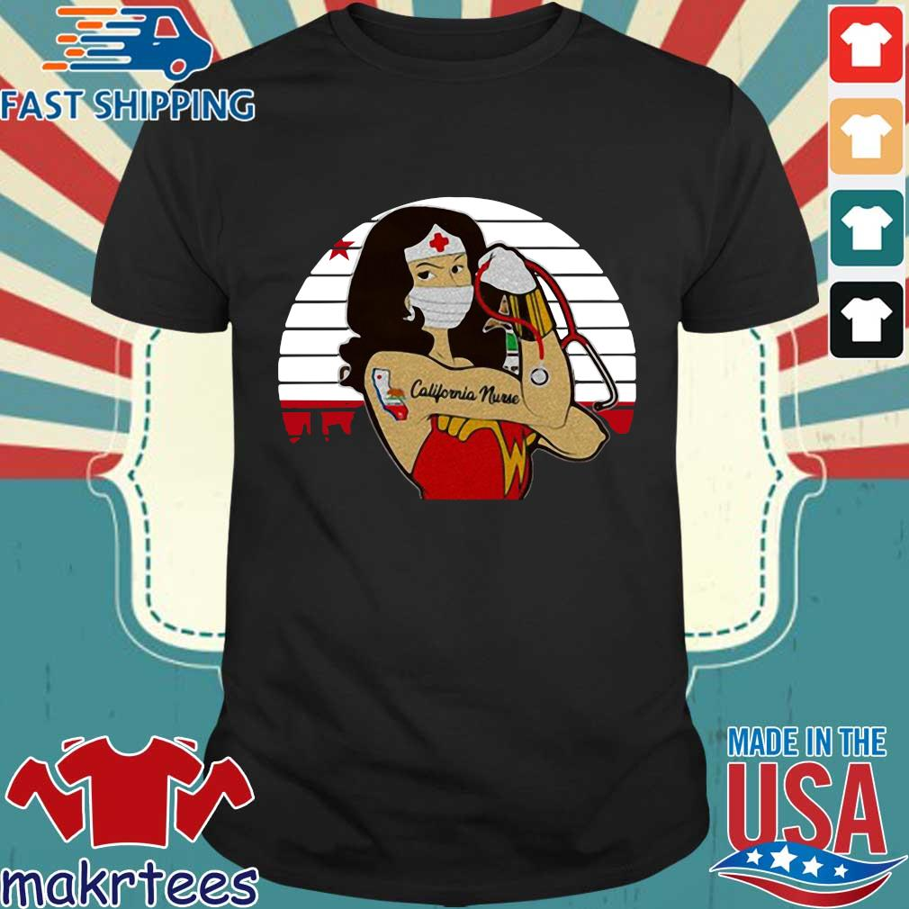 Strong Wonder Woman Tattoo Nurse Vintage Shirt