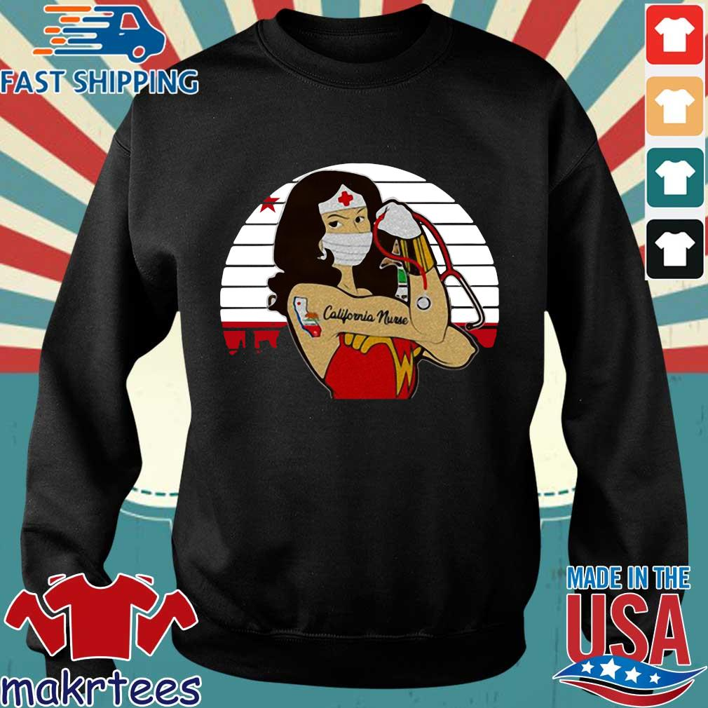 Strong Wonder Woman Tattoo Nurse Vintage Shirt Sweater den