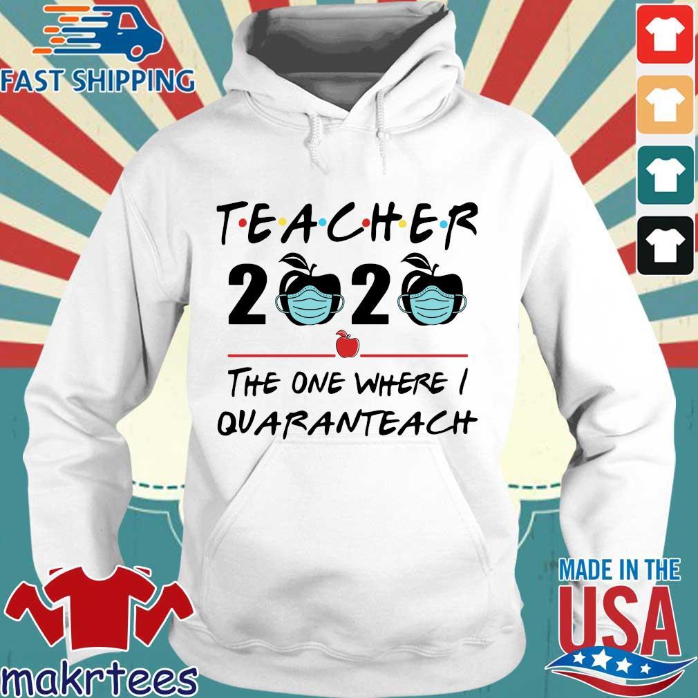 Teacher 2020 Apple The One Where I Quaranteach Shirt Hoodie trang