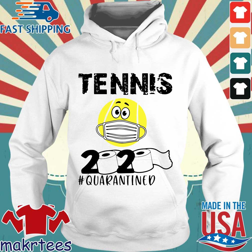 Tennis 2020 #quarantined T-s Hoodie trang