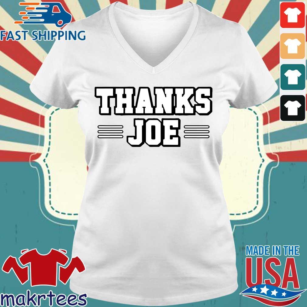 Thanks Joe Shirt Ladies V-neck trang
