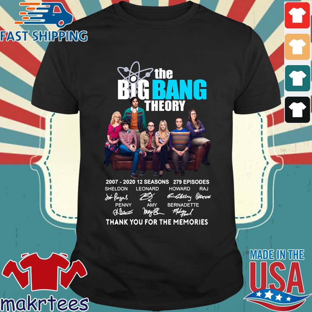 The Big Bang Theory Thank You For The Memories Shirt