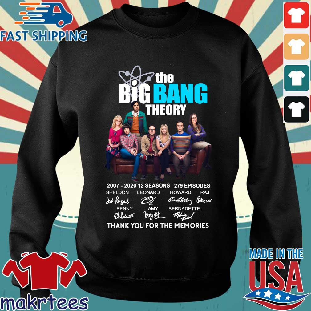 The Big Bang Theory Thank You For The Memories Shirt Sweater den